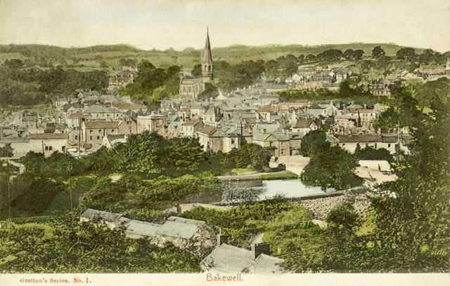 View of Bakewell, c 1906