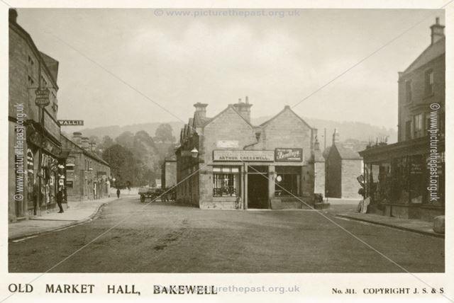 Old Market Hall, Bakewell, c 1922