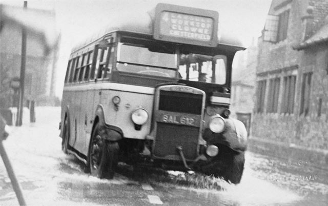 An East Midland Bus, Creswell