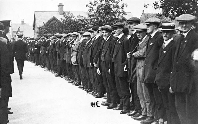 Recruits for the First World War
