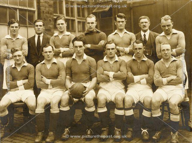 A Bolsover Football Team