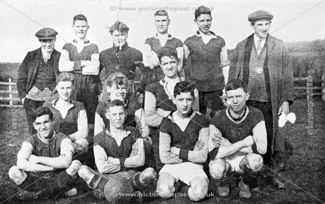 Young Men's football team