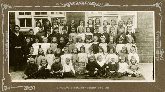 Shirebrook Model Village School, Infants Class Standard 1, 1920