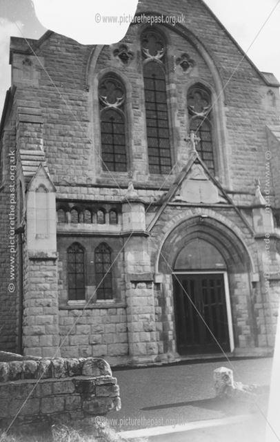Exterior of Holy Trinity Church
