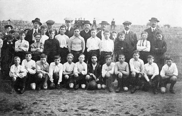 St Lawrence's Football Club, Whitwell, 1870s
