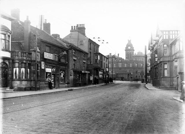 West Bars, looking towards New Square