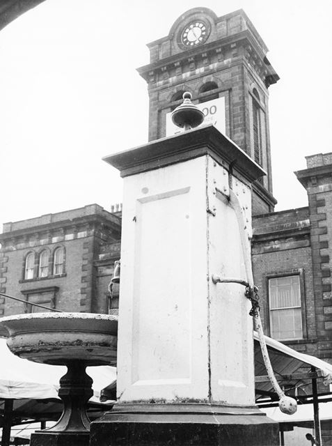 The water pump in the Market Place
