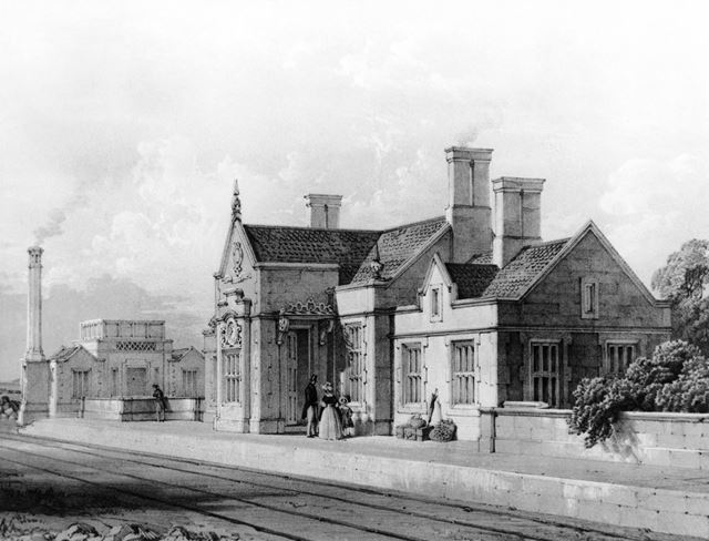 The first Midland Railway Station