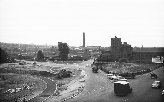 Construction of West Bars roundabout