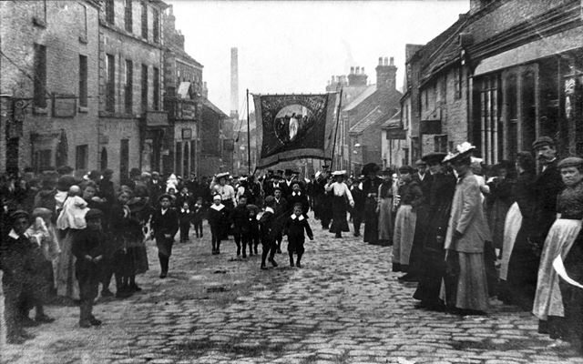 The Ragged School Whit Monday Sunday School Procession