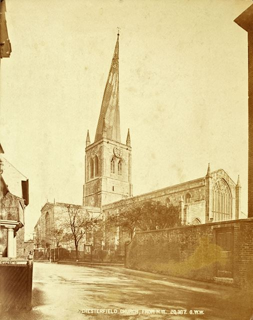 St Mary's and All Saints' - Chesterfield Parish Church from the NW