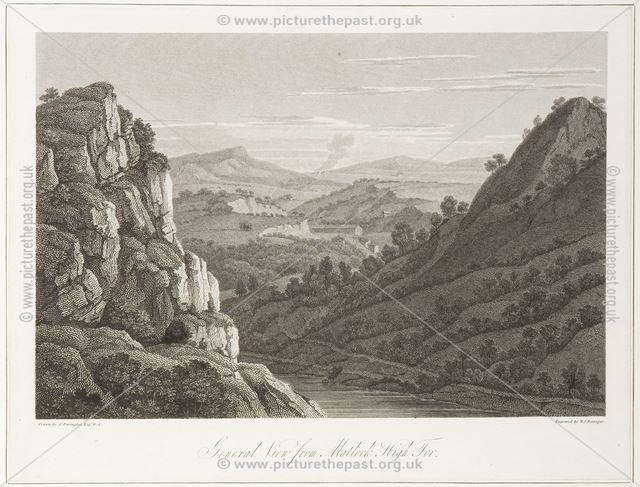 View of Matlock Tor