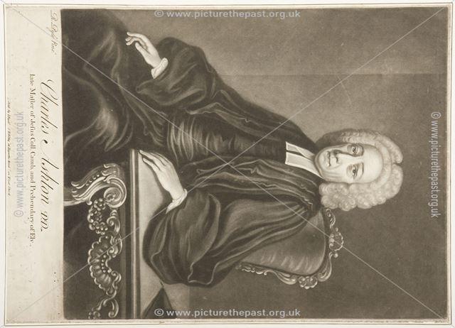 Charles Ashton (1665-1752) of Norton, c 1750-1752