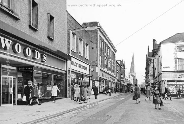 High Street, Chesterfield, c 1978?