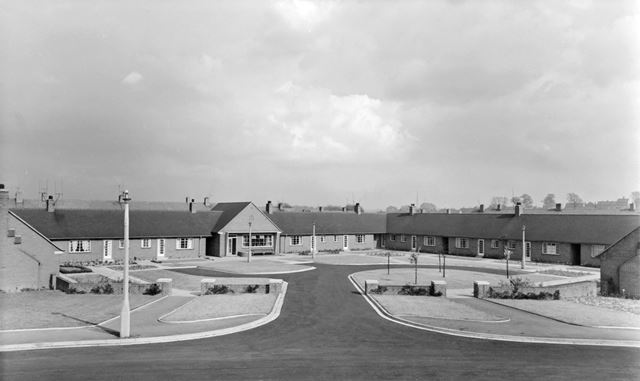 Blandford Drive, Newbold, Chesterfield, 1957