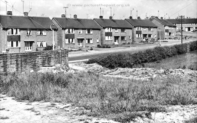 Kirkstone Road, Newbold, Chesterfield, 1961
