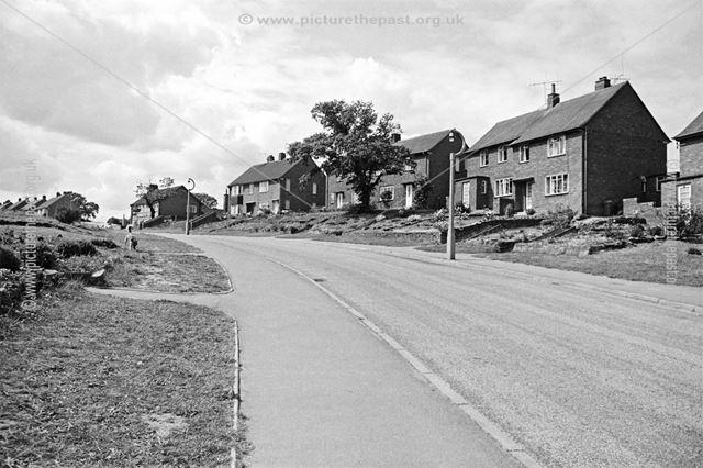 Keswick Drive, Newbold, Chesterfield, 1962