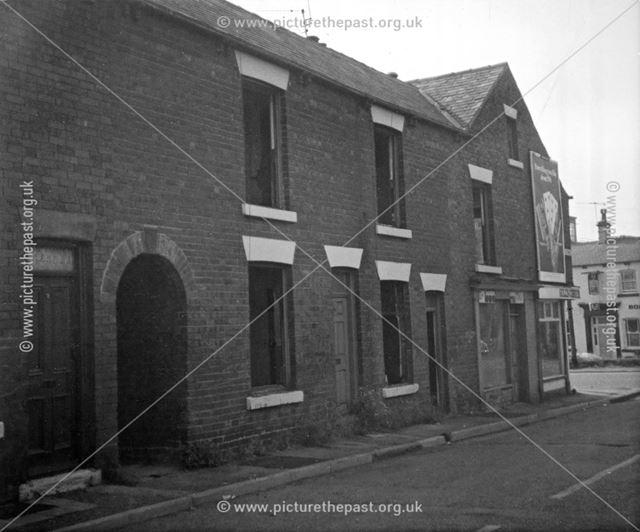 Nos 1-5 Bank Street, Brampton, Chesterfield, 1979