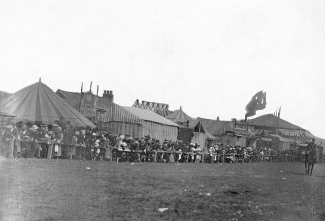 Stand Road Racecourse, Whittington Moor, Chesterfield, c 1910?