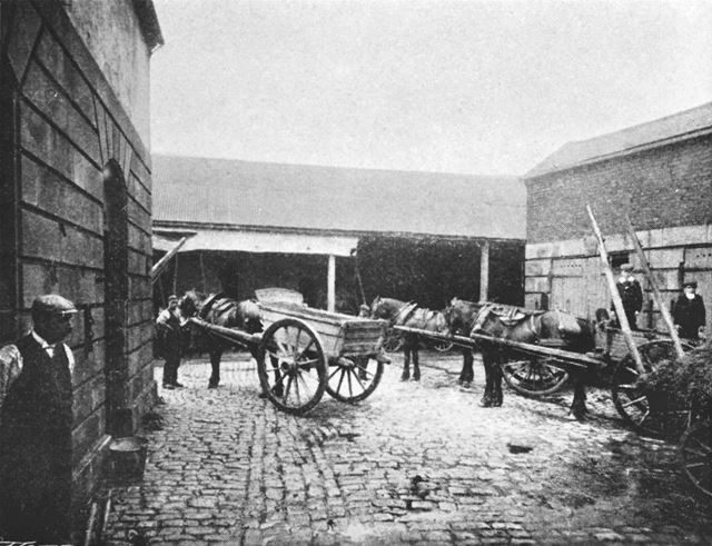 Bateman Brothers Removal Firm, Sheffield Road, Chesterfield, c 1899