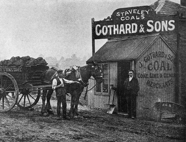 J Gothard and Sons Coal Merchant, c 1899
