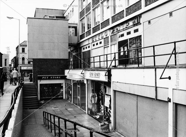Church Lane, Chesterfield, late 1980s