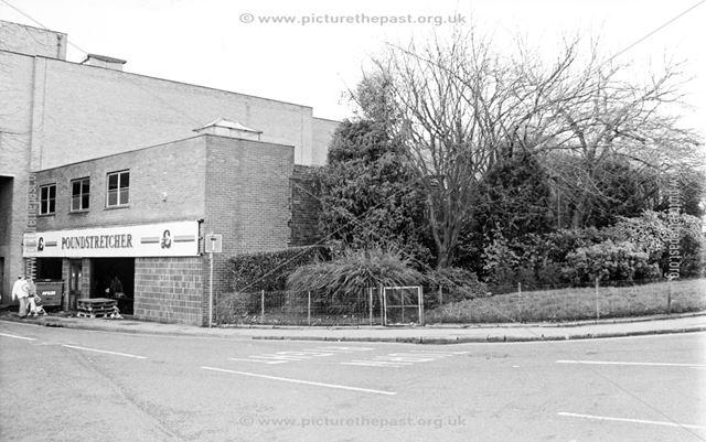 Corner of Church Way and Church Lane, Chesterfield, 1994
