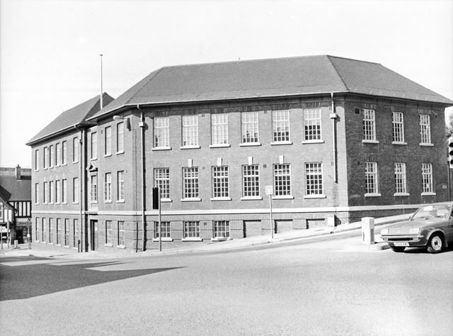 Inland Revenue Offices, St Mary's Gate, Chesterfield, 1980s