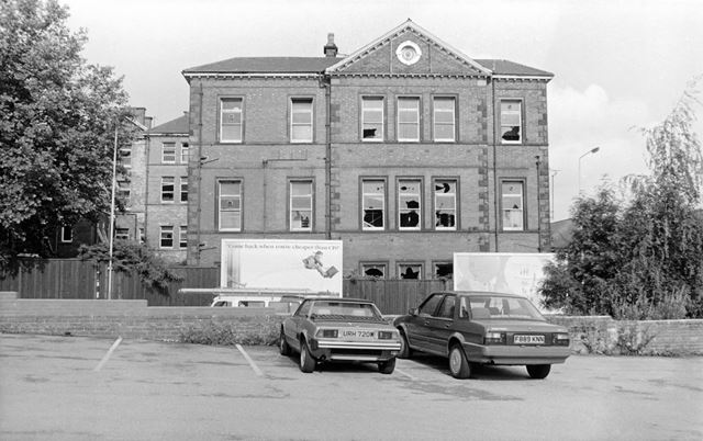 Derelict Buildings of Chesterfield Royal Hospital, 1991