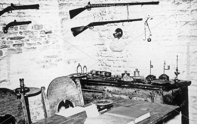 Revolution House, Kitchen Interior, Old Whittington, c 1970