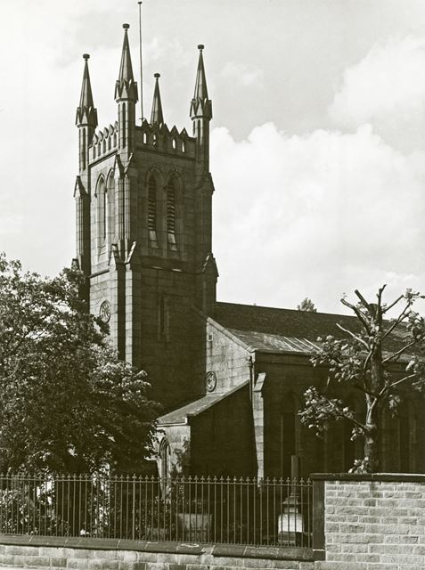 Holy Trinity Church, 31 Newbold Road, Chesterfield, 1952