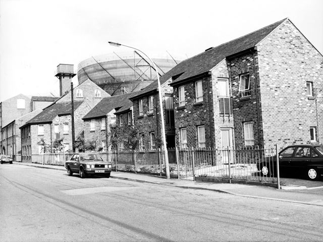 Robinson's Old Works, Chester Street, Brampton, Chesterfield, c 1989