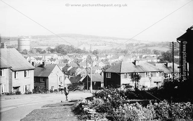 Dunston housing estate, Newbold, Chesterfield, 1961