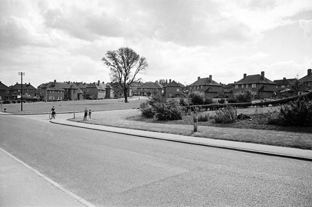 Kirkstone Road, Newbold Chesterfield, 1962