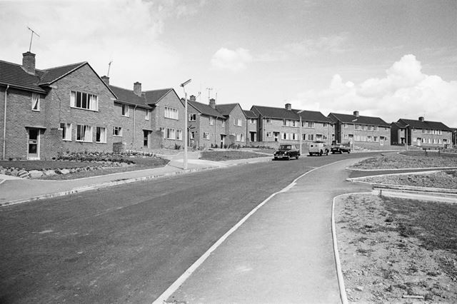 Dunston Lane, Newbold Chesterfield, 1962