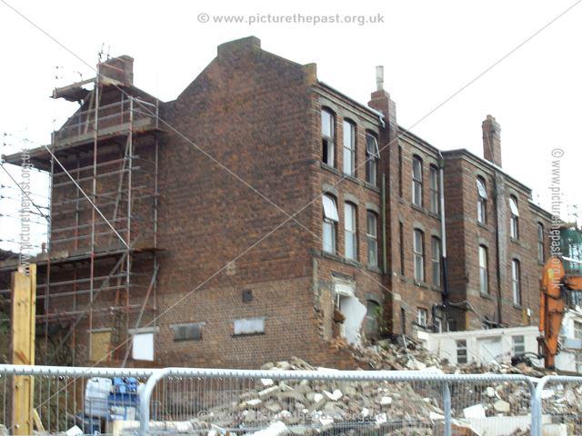 Markham House, Hipper Street, Chesterfield, 2009