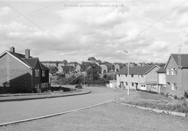 Wenlock Crescent, Loundsley Green, Chesterfield, 1966