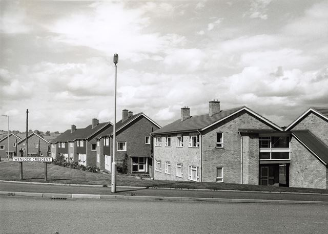 Wenlock Crescent, Loundsley Green, Chesterfield, 1966
