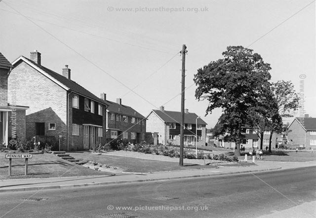 Pennine Way, Loundsley Green, Chesterfield, 1966