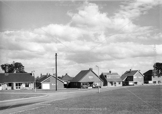 Mendip Crescent, Loundsley Green, Chesterfield, 1966