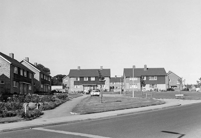 Chiltern Close, Loundsley Green, Chesterfield, 1966