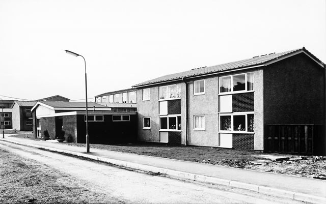 Newland Dale Flats, Stonegravels, Chesterfield, 1967