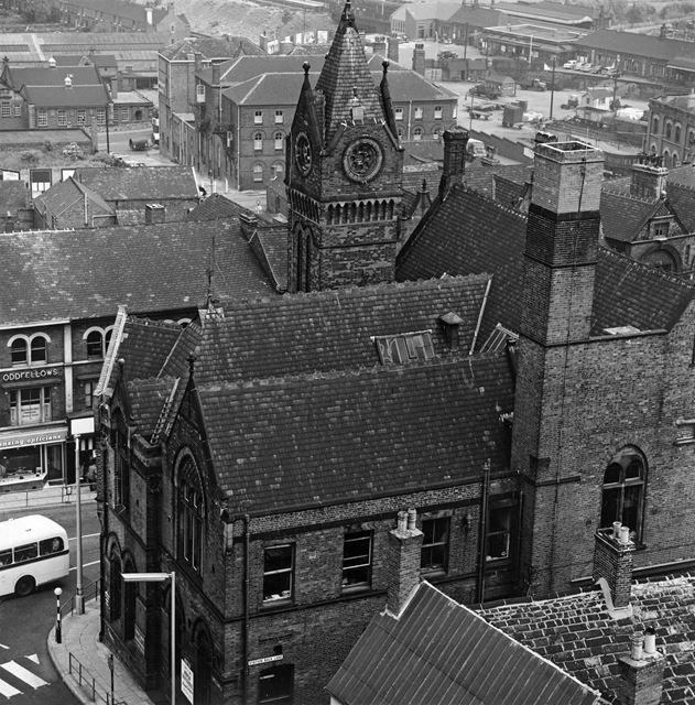 Stephenson Memorial Hall, Corporation Street, Chesterfield, 1960s