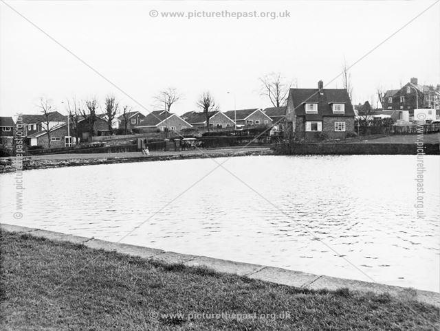 Robinson's Walton Dam, Chesterfield, c 1980s