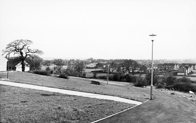 Holmebrook Walk Looking Towards Loundsley Green, Chesterfield, 1972