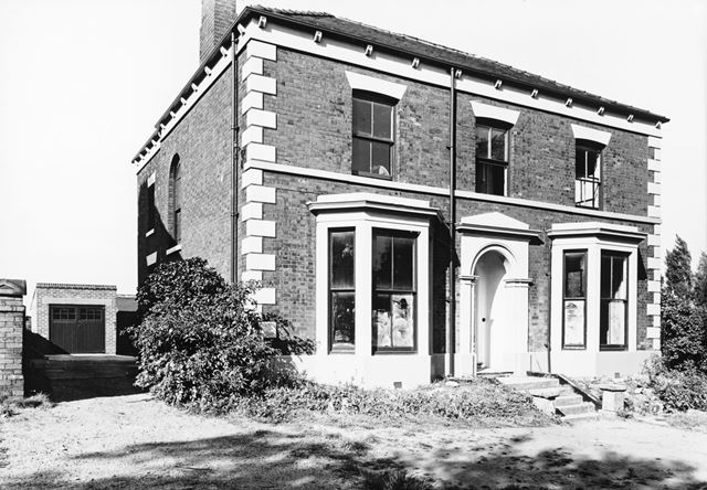 Fern House - Front View, Stonegravels, Chesterfield, 1964