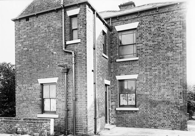 Fern House - North Side View, Stonegravels, Chesterfield, 1964