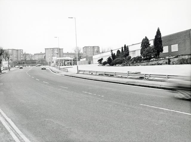 Sheffield Road View Towards Peveril Road, Whittington Moor, Chesterfield, 1989