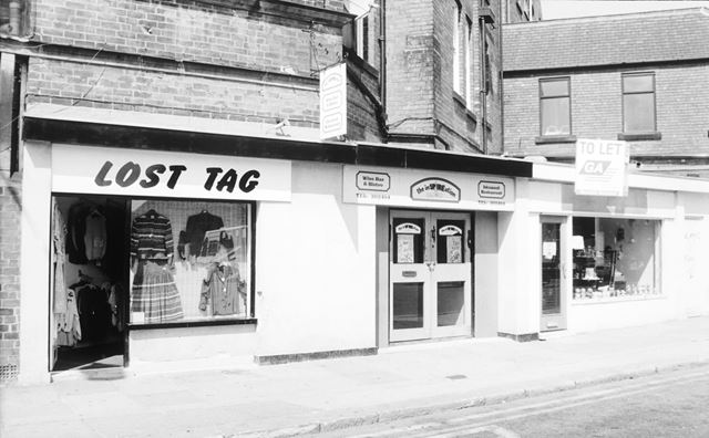 Shops on Church Way, Chesterfield, 1991