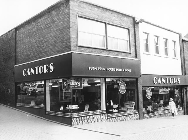 Cantor's Furniture Store, Packer's Row Chesterfield, 1980s